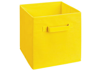 Storage Cube Box,  yellow cube