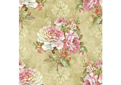 Elementto Wallpapers Floral Design Home Wallpaper For Walls ew70301-1, blue