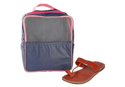 Gym (Travel) Shoe Bag,  navy blue