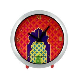The Elephant Company Steel GREEN CHAKRA Home Wall Clocks, yellow