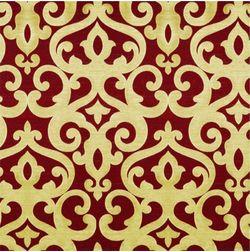 Rangshri Classic Curtain Fabric - 8, red, fabric