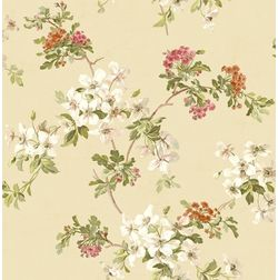 Elementto Wallpapers Floral Design Home Wallpaper For Walls, beige
