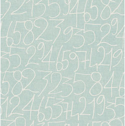 Elementto Wallpapers Numeric Design Home Wallpaper For Walls, blue