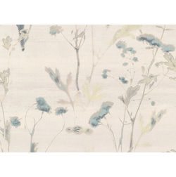 Elementto Wallpapers Floral Design Home Wallpaper For Walls, blue2