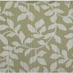 Constellation Floral Curtain Fabric - AL107, green, fabric