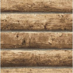 Elementto Wood Design Modern 3D Wallpaper for Walls - td32205, brown