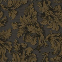Elementto Wall papers Floral Design Home Wallpaper For Walls, dark brown