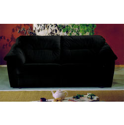 Atlantika Stripes Upholstery Fabric, black, fabric