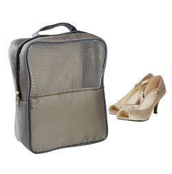 Gym (Travel) Shoe Bag,  grey