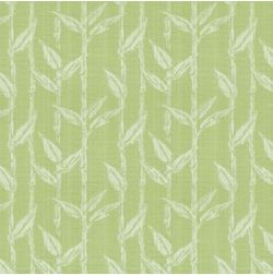 Constellation Floral Curtain Fabric - ZI107, green, fabric