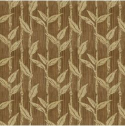 Constellation Floral Curtain Fabric - ZI104, brown, fabric