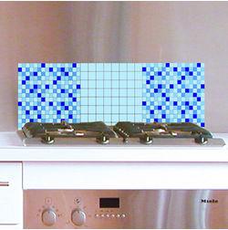 Wall Stickers Home Decor Line Light Blue - 31113
