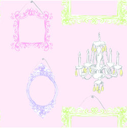 Elementto Wall papers Kids Design Home Wallpaper For Walls, pink