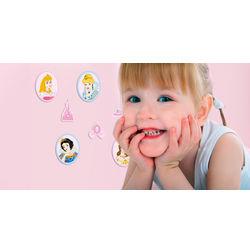 Wall Stickers For Kids Decofun Princess 24 Mini Foam Element - 23812