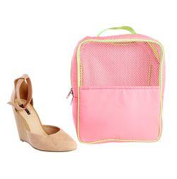 Gym (Travel) Shoe Bag,  pink
