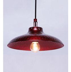 Aasra Decor Red Illuminous Pendant Lamp Lighting Ceiling, red