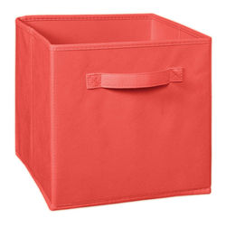 Storage Cube Box,  red cube