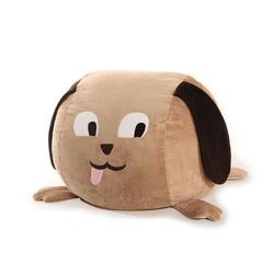 Dog Bean Bag Brown Cover - BB11, brown