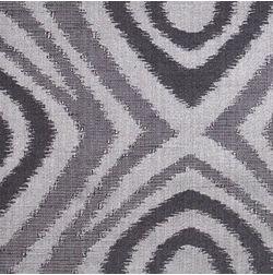 Constellation Geometric Curtain Fabric - ZT111, grey, fabric
