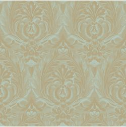 Elementto Wall papers Floral Design Home Wallpaper For Walls, lt  brown, et30302 green