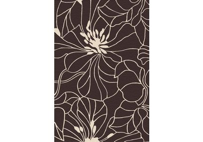 Floor Carpet and Rugs Hand Tufted, AC Concept Abstract Brown Carpets Online - ACR (28) -L, brown, 3ftx5ft