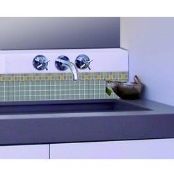 Wall Stickers Home Decor Line Metalic Grey - 31117