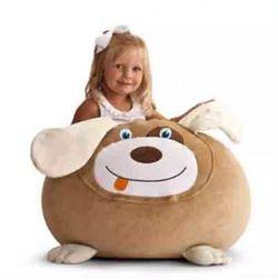 Crazy Dog Bean Bag Cover -MGB1154, beige