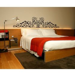 Kakshyaachitra Curvy Extravaganza Wall Stickers For Bedroom And Living Room, 24 6 inches