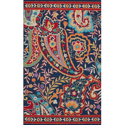 Floor Carpet and Rugs Hand Tufted, The Rug Concept Multi Carpets Online Tbilisi 6015-S, multi, 3ft x 5ft