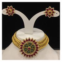 vrudev_ jewelsJardosi thread belt necklace