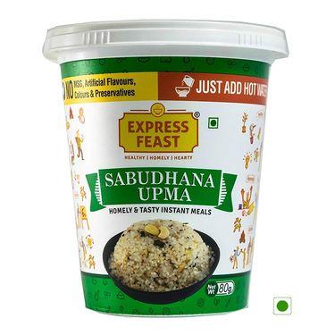 Insta Feast Sabudhana Upma Cup (Serves 1) 80g