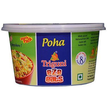 Poha (Serves 1) 75g, Triguni Eze Eats, Ready to eat