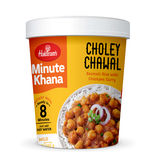 Choley Chawal (Serves 1) 105g, Haldirams Minute Khana, Ready to eat
