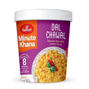 Dal Chawal (Serves 1) 90g, Haldirams Minute Khana, Ready to eat