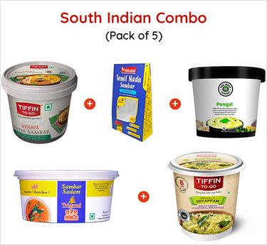 South Indian Combo Ready to eat (Serves 5) 402g
