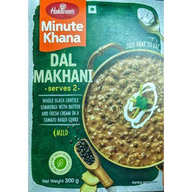 Dal Makhani (Serves 2) 300g, Haldirams Minute Khana, Heat to eat