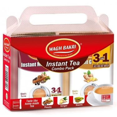 Wagh Bakri Instant Tea Premix Combo 168g (12 sachets)