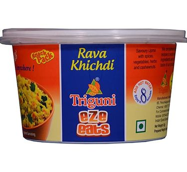 Rava Khichdi (Serves 1) 47g, Triguni Eze Eats, Ready to eat