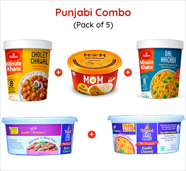 Punjabi Combo Ready to eat (Serves 5) 403g