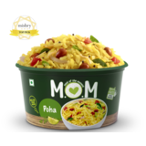 Poha (Serves 1) 87g, Ready to eat meal, MOM Meal of the Moment