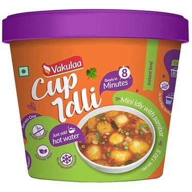 Vakulaa Cup Idli (Serves 2) 130g
