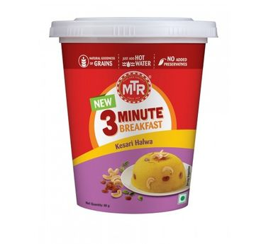 MTR Kesari Halwa Cup (Serves 1)