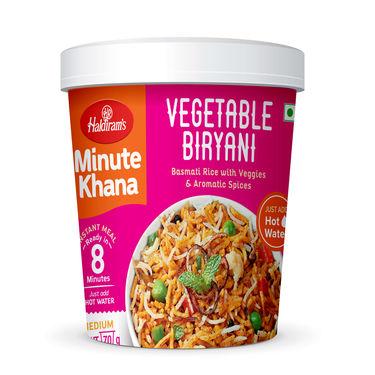 Haldirams Vegetable Biryani (Serves 1) 70g