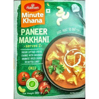 Paneer Makhani (Serves 2) 300g, Haldirams Minute Khana, Heat to eat