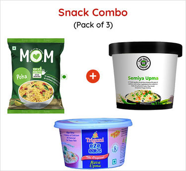 Snack Combo Ready to Eat (Serves 3) 229g