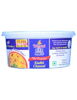 Kadhi Chawal (Serves 2) 70g, Ready to eat meal, Triguni Eze Eats