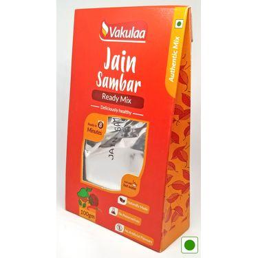 Vakulaa Jain Sambar (Serves 2) 100g