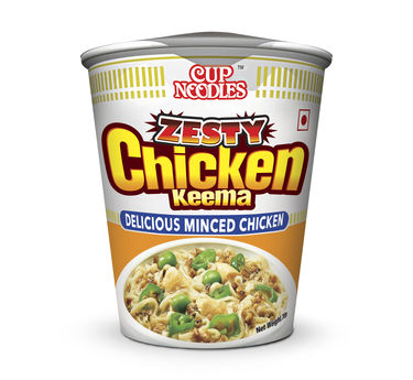 Cup Noodles Zesty Chicken Keema 70g Nissin