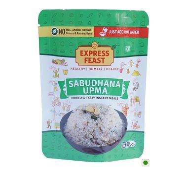 Insta Feast Sabudhana Upma Pouch (Serves 1) 80g