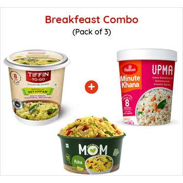 Breakfast Combo Ready to Eat (Serves 3) 245g